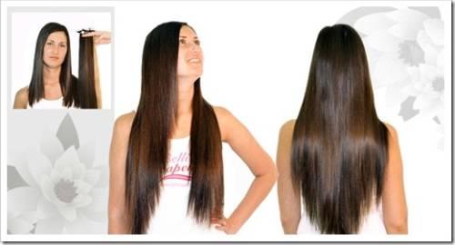 Наращивание волос от Belli Capelli