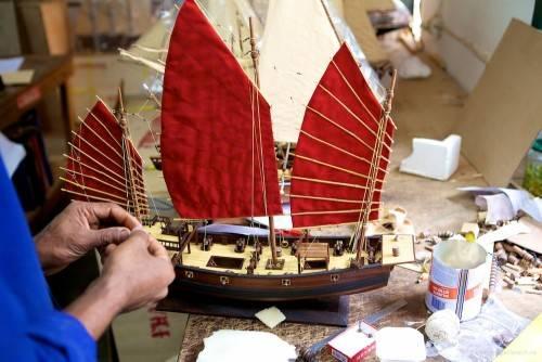 Как сделать парус для модели корабля
