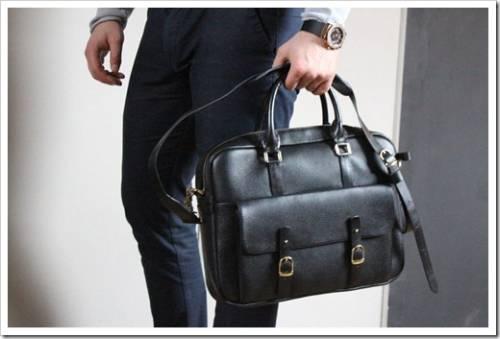 Классический набор вещей для мужской сумки