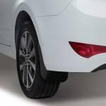 Как поменять брызговики на Hyundai Solaris