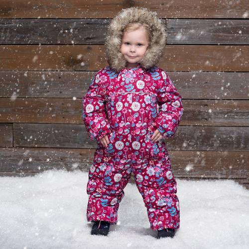 Какие детские зимние комбинезоны лучше