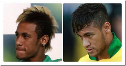 Выбор причёски на примере Неймара