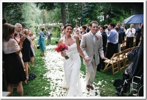 Меню свадебного банкета в летнее время года