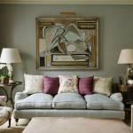 Какую картину повесить в гостиной над диваном