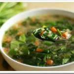 Необходимые ингредиенты для приготовления супа