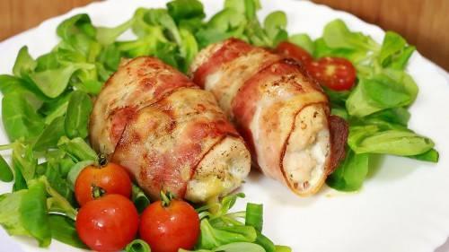 Запеченные куриные ножки с картофелем и сыром