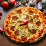 Как называется острая пицца