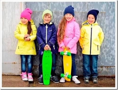 Детская верхняя одежда на межсезонье