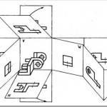 Расположение видов на плоскости