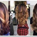 Модные стили в окрашивании волос