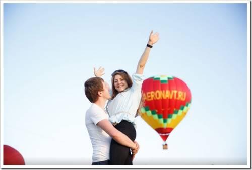 Полет на воздушном шаре в Москве как оригинальный подарок девушке, другу, на свадьбу