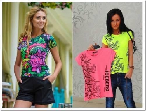 Какие женские футболки в моде летом 2019