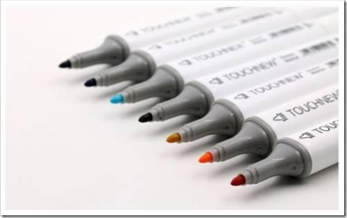 Фломастеры-штампы и специальные фломастеры для доски
