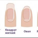 По каким критериям выбирать форму ногтей?
