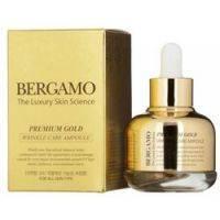 Купить Bergamo Premium Gold Wrinkle Care Ampoule - Сыворотка с золотом от морщин, 30 мл