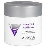 Купить Aravia Professional Hyaluronic Acid Mask - Крем-маска супер увлажняющая, 300 мл