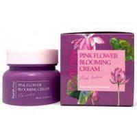 Купить FarmStay Pink Flower Lotus - Крем для лица с экстрактом лотоса, 100 мл