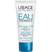 Купить Uriage Eau Thermale Light Water Cream SPF20 - Легкий увлажняющий крем для нормальной и комбинированной кожи, 40 мл