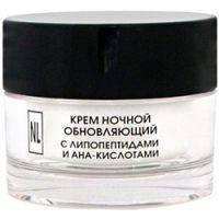 Купить New Line - Крем ночной обновляющий с липопептидами и АНА кислотами, 50 мл.