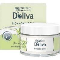 Купить Doliva - Крем ночной для лица с керамидами, 50 мл