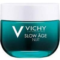 Купить Vichy Slow Age - Восстанавливающий ночной крем и маска для интенсивной оксигенации кожи, 50 мл
