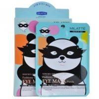 Купить Milatte Fashiony Black Eye Mask-Panda - Маска от морщин и темных кругов вокруг глаз, 10 г