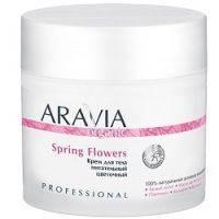 Купить Aravia Professional Organic Spring Flowers - Крем для тела питательный цветочный, 300 мл