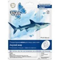 Купить Dizao - Маска для лица и шеи с акульим жиром, 1 шт