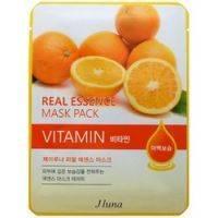Купить Juno Real Essence Mask Pack Vitamin - Маска тканевая с витаминами, 25 мл