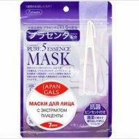 Купить Japan Gals Pure 5 Essential - Маски для лица с плацентой, 7 шт.