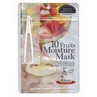 Купить Japan Gals - Маски для лица с экстрактом 10 фруктов, 7 шт.