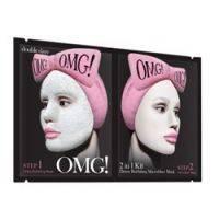 Купить Double Dare OMG! Detox Bubbling Microfiber Mask - Маска двухкомпонентная для глубокого очищения и питания кожи лица, 5 шт