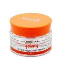 Купить Christina Forever Young Active Night Eye Cream - Ночной крем для глаз Суперактив, 30 мл