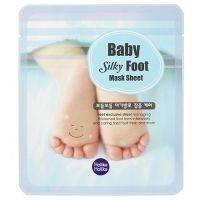 Купить Holika Holika Baby Silky Foot Mask Sheet - Маска для ног, смягчающая, 18 мл*2