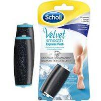 Купить Scholl - Сменные роликовые насадки 1 экстражесткий ролик + 1 ролик для полировки для электрической роликовой пилки