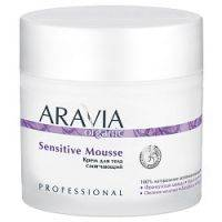 Купить Aravia Professional Organic Sensitive Mousse - Крем для тела смягчающий, 300 мл