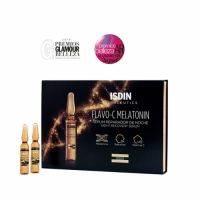 Купить Isdin Isdinceutics Flavo-C Melatonin Serum Reparador De Noche - Сыворотка для лица ночная, 30*2 мл