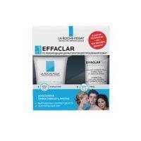 Купить La Roche Posay Effaclar - Набор для проблемной кожи, корректирующий крем-гель и очищающий гель, 1 шт