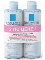 Купить La Roche Posay Physiological Cleansers - Мицеллярная вода для чувствительной, склонной к аллергии кожи Ultra, 400 мл х 2 шт