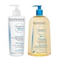 Купить Bioderma Atoderm - Бальзам Интенсив, 500 мл + Масло для душа, 1 л