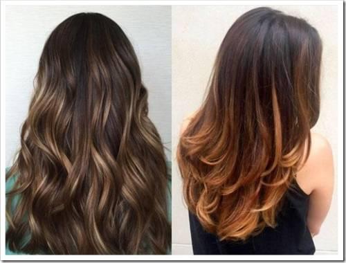 Виды тонирования волос