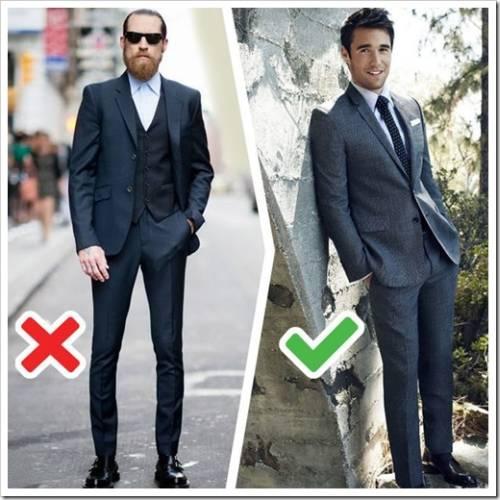 Разделение мужских костюмов по назначению