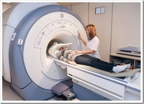 Принцип, на котором работает аппарат МРТ