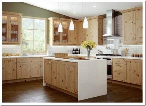 Оптимальный материал для кухонного гарнитура