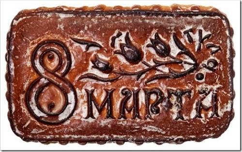 Тульские пряники с логотипом как вариант корпоративного подарка на 8 марта