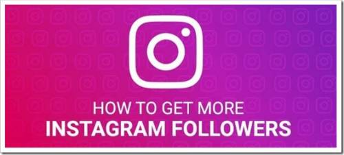 How to quickly get followers on instagram