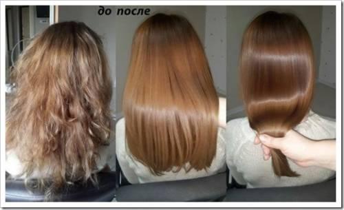 Процедуры для восстановления волос