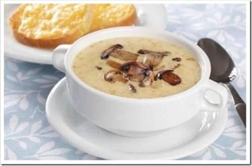 Зажарка и варка супа