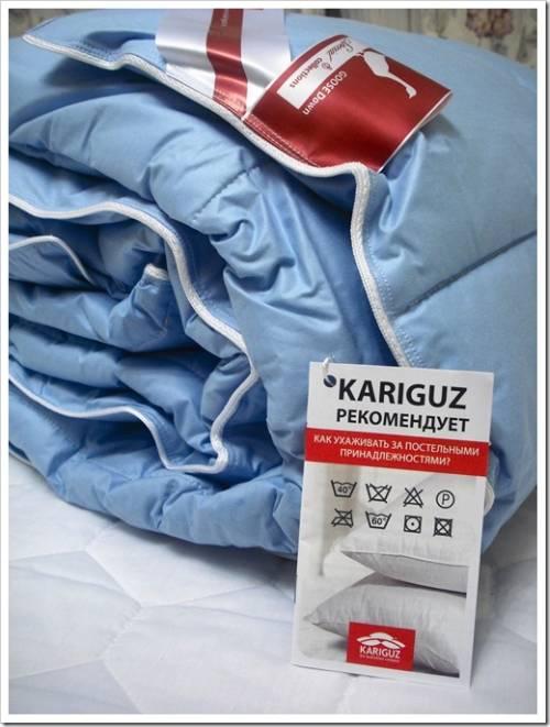 Виды и особенности одеял бренда Каригуз