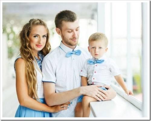 Различные способы создания семейного образа в одежде